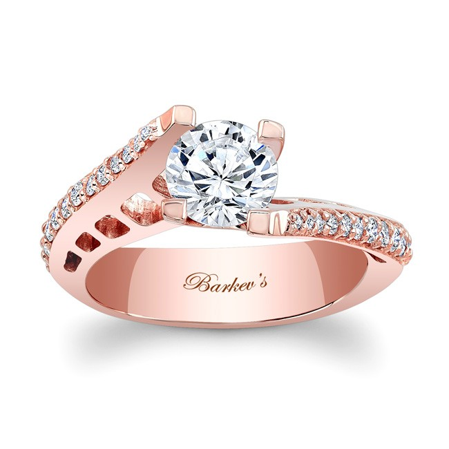 67eed022d ROSE GOLD ENGAGEMENT RING at www.anthonylaurencejewelers.com