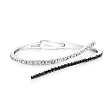 Barkevs BLACK & WHITE DIAMOND BRACELET