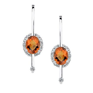 Barkevs MADEIRA CITRINE EARRINGS
