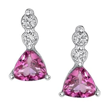 Barkevs PINK TOURMALINE EARRINGS