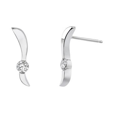 Barkevs WHITE GOLD DIAMOND EARRINGS - 5191EW