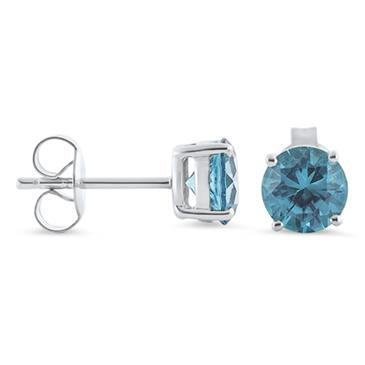 Prima Blue Topaz Earrings
