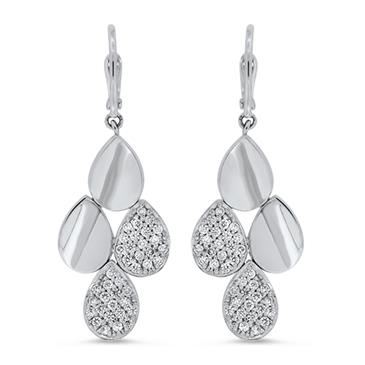 Prima Diamond Dangle Earrings