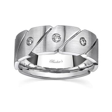 Barkevs MENS WEDDING BAND