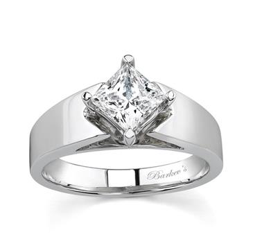 0e25c8cd1 PRINCESS CUT SOLITAIRE ENGAGEMENT RING at www ...